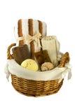 Panier de Bath Images stock