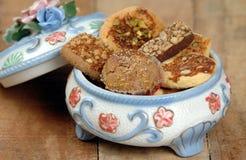 Panier de biscuit Images libres de droits