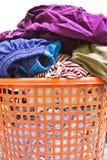 Panier de blanchisserie Photos stock