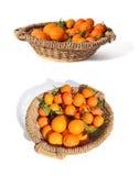 Panier de citron Photographie stock