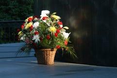Panier de fleur Photos libres de droits