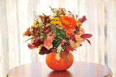 Panier de fleur de Halloween Image libre de droits