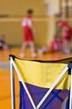 Panier de formation de volleyball photographie stock