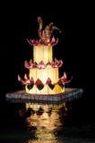 Panier de krathong de Loi Image libre de droits