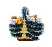 Panier de Noël Image stock