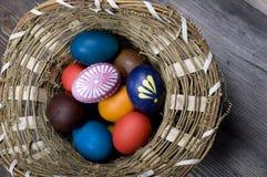 Panier de Pâques photographie stock libre de droits