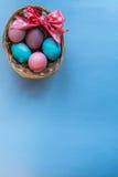 Panier de Pâques Images libres de droits