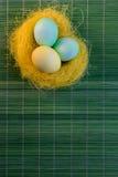 Panier de Pâques Image libre de droits