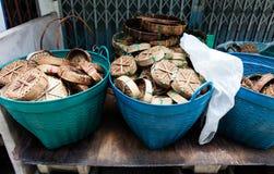 Panier de poissons Photographie stock libre de droits
