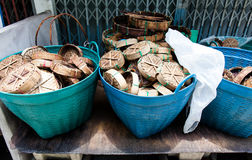 Panier de poissons Photos libres de droits
