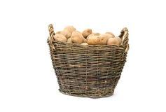Panier de pomme de terre Photographie stock libre de droits