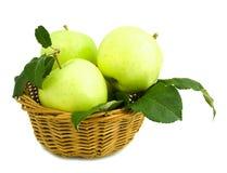 panier de pommes Images libres de droits