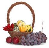 Panier de thanksgiving Image stock