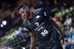 Panier de Valencia Basket et de Bilbao Photographie stock libre de droits