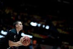 Panier de Valencia Basket et de Bilbao Photos stock
