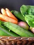 Panier des légumes Photo libre de droits