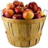 Panier des pommes Image libre de droits