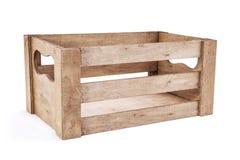 Panier en bois Photos libres de droits