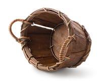 Panier en bois Image libre de droits