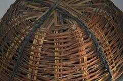 Panier en bois de bâton Images libres de droits