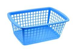 Panier en plastique bleu illustration libre de droits