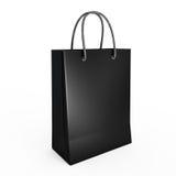 Panier negro Fotografía de archivo libre de regalías