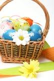 panier Pâques Photos stock