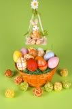panier Pâques Photo libre de droits