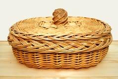 Panier pour le pain. Photographie stock