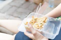 panier-repas photo libre de droits