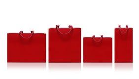 Panier rojo Fotos de archivo libres de regalías