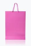 Panier rosado, aislado con la trayectoria de recortes en el backgrou blanco Imágenes de archivo libres de regalías