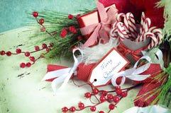 Paniere di Natale Fotografia Stock Libera da Diritti