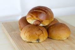 Panieren Sie Bäckerei stockfotos