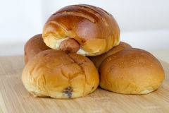 Panieren Sie Bäckerei stockfotografie