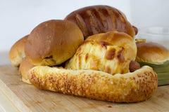 Panieren Sie Bäckerei lizenzfreie stockfotos