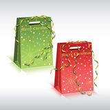 Panieres de papel coloridos Fotografía de archivo libre de regalías