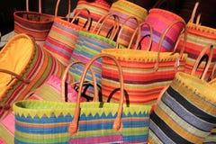 Paniers colorés Photo libre de droits