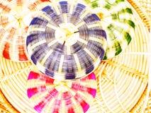 Paniers colorés Images stock