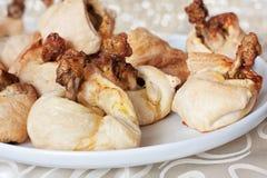 Paniers de pâte feuilletée Photo libre de droits