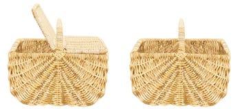 Paniers de pique-nique Images stock