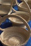 Paniers de Sweetgrass Photos libres de droits
