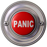 Panik-Taste Lizenzfreie Stockfotografie