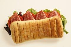 panini που ψήνεται Στοκ Εικόνες