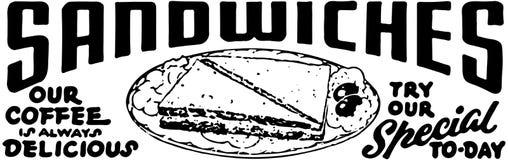 panini illustrazione di stock