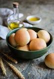 Panini All'Olio -意大利橄榄油小圆面包 库存图片