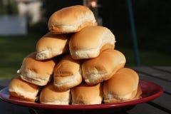 Panini del hot dog fotografia stock
