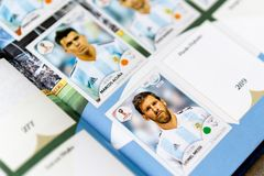 Panini FIFA World Cup Russia 2018 Official Licensed Sticker Album Stock Photography