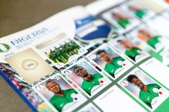 Panini FIFA World Cup Russia 2018 Official Licensed Sticker Album Royalty Free Stock Photography
