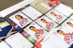Panini FIFA World Cup Russia 2018 Official Licensed Sticker Album Royalty Free Stock Image